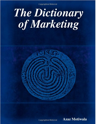the dictionary of marketing book